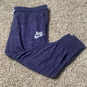 Dark Purple Nike Joggers